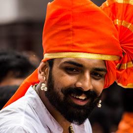 Indian Culture by Neel Gengje - People Musicians & Entertainers ( look, feta, beard, vibrant, moustache )