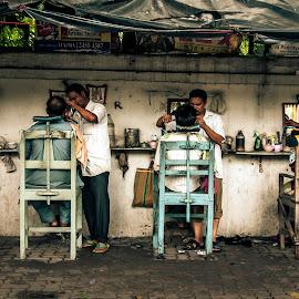 SALOON by Suvradip Dutta - City,  Street & Park  Street Scenes ( street, people )