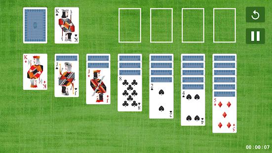 Играть в косынку карточную