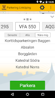 Screenshot of Parkering Linköping