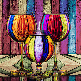Picasso 2014 by Rakesh Syal - Artistic Objects Glass