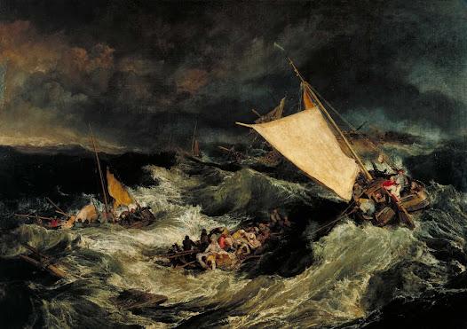 Turner Joseph, Naufragio
