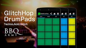 Screenshot of Glitch Drum Pads