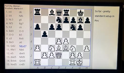 ChessCast - screenshot