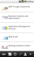 Screenshot of IBM Switzerland - GBS