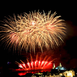 by Jean Marc Colonna d'Istria - Abstract Fire & Fireworks