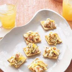 Shrimp Salad Canapes with Endive