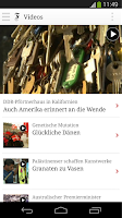 Screenshot of FAZ.NET - Nachrichten