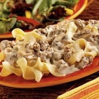 Sausage Noodles Cream Of Mushroom Soup Recipes