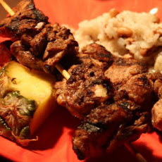 Jamaican Jerk Chicken Skewers