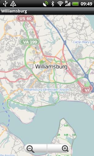 Williamsburg VI Street MAp