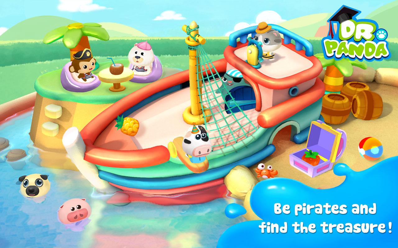 Dr. Panda's Swimming Pool Screenshot 0