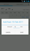 Screenshot of Rain Recorder