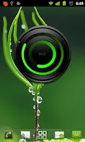 Screenshot of MIUI Spiral GREEN Analog Clock