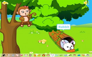 Screenshot of Animals by BabyBus
