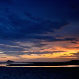 River of Light by Colin Gale - Landscapes Sunsets & Sunrises ( island park reserve, nature, dunedin, cgi colin gale images, ocean, colin robert gale, beach, landscape, #dunnerstunner, new zealand )