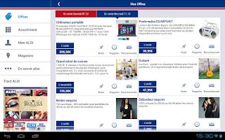 Screenshot of ALDI France