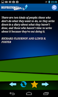 Screenshot of Inspirational Quotes Pro