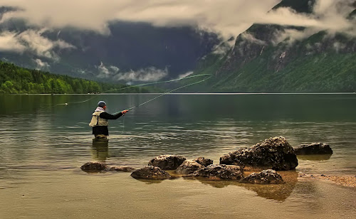 fishing by Jože Borišek - Sports & Fitness Other Sports ( bohinj (slovenia) )