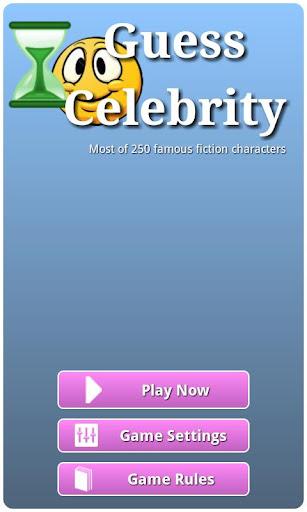 Guess Celebrity Fiction