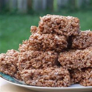 Coconut Rice Krispies Chocolate Recipes