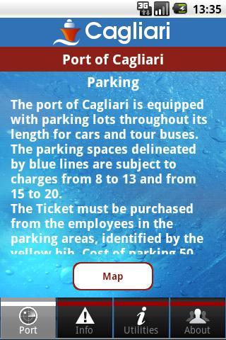 【免費旅遊App】InPorTra Porto di Cagliari-APP點子