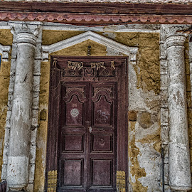 Tamilandfrenchfusion by Ivon Murugesan - Digital Art Things ( building, others, other, exteriors, exterior, vingage, yellow, french, architecture, tamil, photography, heritage, buildings, pondicherry, fusion, india, tamilnadu,  )