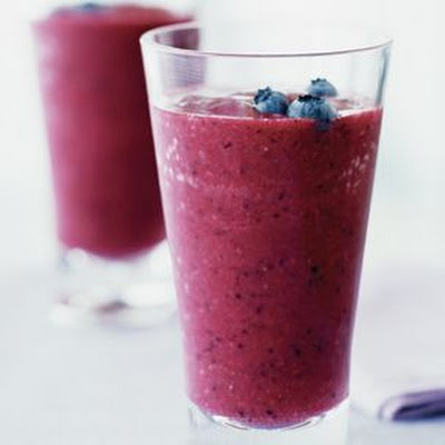 Three-Berry Smoothies