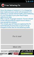 Screenshot of Free Tethering Fix