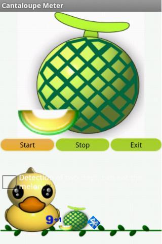 洋香瓜檢測器-藍芽板