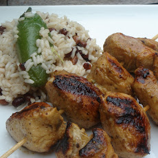 Jerk Chicken Kabobs
