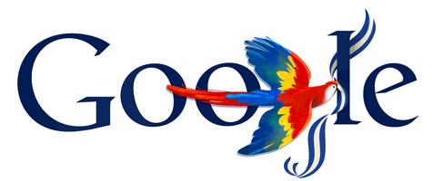 Google Doodle Honduras Independence Day 2013