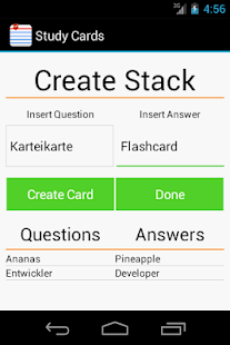 Free Studycards: flashcards - screenshot