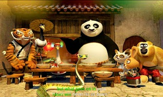 Screenshot of Kung Fu Panda Holiday