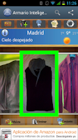 Screenshot of Armario Inteligente (Closet)