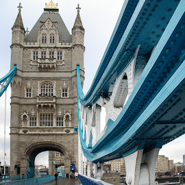 Tower Bridge in London by Matthew Haines - Buildings & Architecture Public & Historical