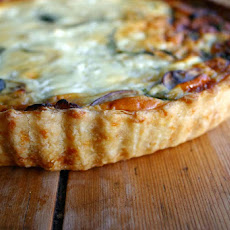 Spinach And Mushroom Cottage Cheese Quiche
