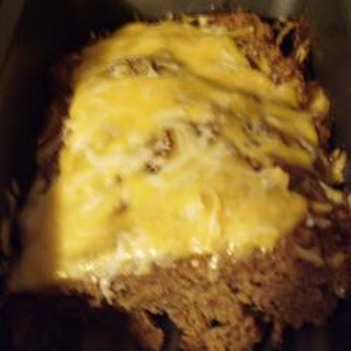 Cheese Stuffed Turkey Meat Loaf
