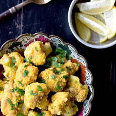 Lemony Fried Cauliflower