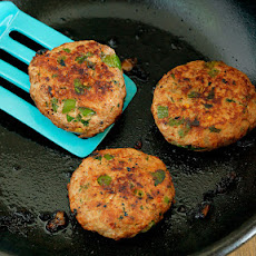 Ginger, Pear & Turkey Sausage Patties