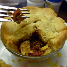 Meat Pie with Phyllo Dough