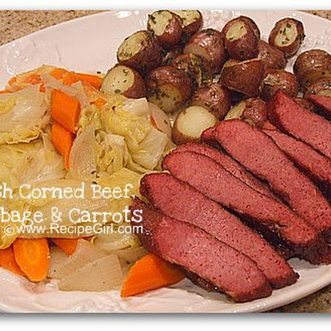Irish Corned Beef, Cabbage and Carrots