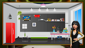 Screenshot of Modern Study Room Escape