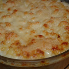 Macaroni and Fontina Cheese