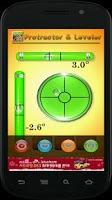 Screenshot of Protractor and leveler