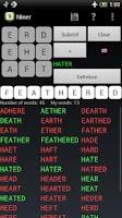 Screenshot of Niner Word Game