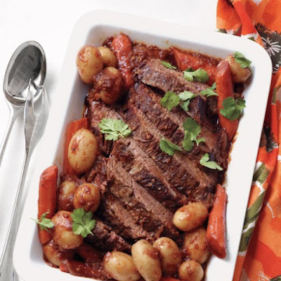 Chili-Braised Brisket