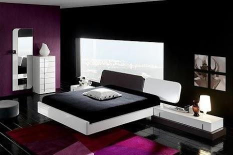 black white bedroom ideas apk for nokia - Black And White Bedroom Interior