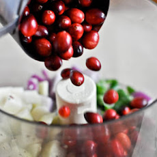 Cranberry Pear Salsa