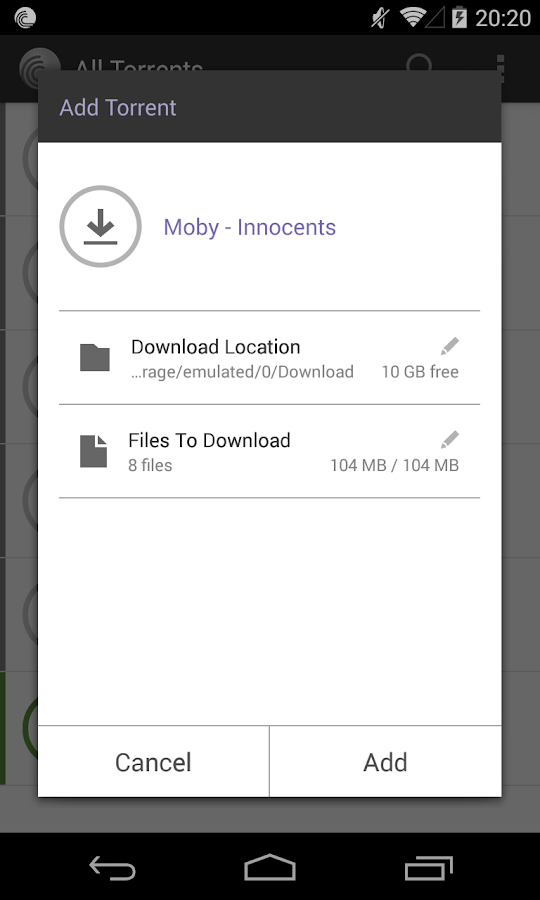 BitTorrent® Pro - Torrent App Screenshot 4